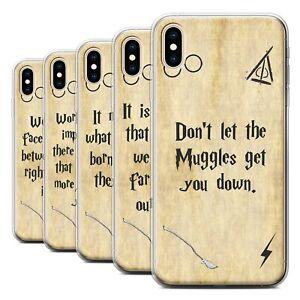 Gel-TPU-Case-for-Apple-iPhone-XS-Max-School-Of-Magic-Film-Quotes