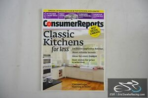 Details about Consumer Reports Magazine - Classic Kitchens for Less Vol  75.8 August 2010