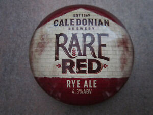 Caledonian Rare Red Plastic Round Fish Eye T Bar Pump Badge (lot B) L3p 21kk1mj9-07220945-159710647