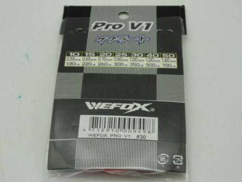 V//WE-FOX Jigging Popping kits made with Kevlar 350lb 3H//Spilt ring shrink tube