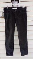 Abercrombie & Fitch Jeggings Jeans Pants Velvet Corduroy Grey Size 8 W29 $68