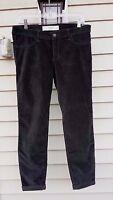 Abercrombie & Fitch Jeggings Jeans Pants Velvet Corduroy Grey Size 8 W29 $68