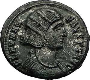 FAUSTA-wife-of-Constantine-I-the-Great-325AD-Authentic-Ancient-Roman-Coin-i59180