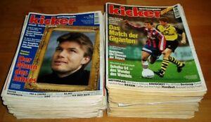 90x-Kicker-1996-Sportmagazin-Sportzeitung-Fussball-Zeitschrift-Sammlung-Heft-alt