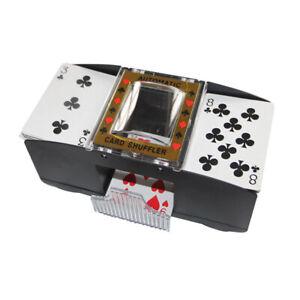 Automatischer-Kartenmischgeraet-Kartenmischmaschine-Poker-2-Decks-Kartenmischer