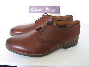 varios zapatos claro tamaños de cuero Nuevos Clarks Novato marrón 0d7Uxw