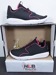 Nike Jordan Eclipse GG 724356 008 Youth Size 9.5Y Black White Vivid ... 7c15b2afb