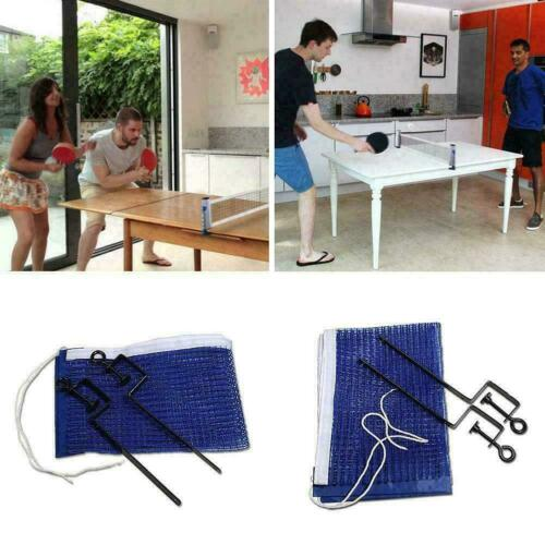 Portable Foldable Sports Equipment Playing Universal Tennis Table Net