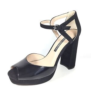 French Connection Dita Women S Size 10 M Black Suede