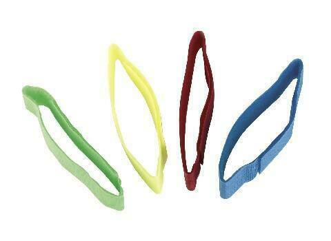 Fesselband Klettverschluß 10 Stück rot Markierungsbänder