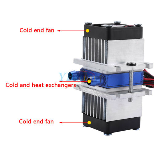 Thermoelectric Peltier Refrigeration TEC1-12706 Radiator Water Cooling System