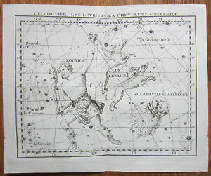 Flamsteed-Astronomy-Original-Celestial-Map-Bootes-Hair-of-Berenice-1776
