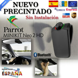 Manos-Libres-Parrot-Minikit-Neo-2-HD-Negro-NUEVO-Bluetooth-Portable-Car-Kit-26