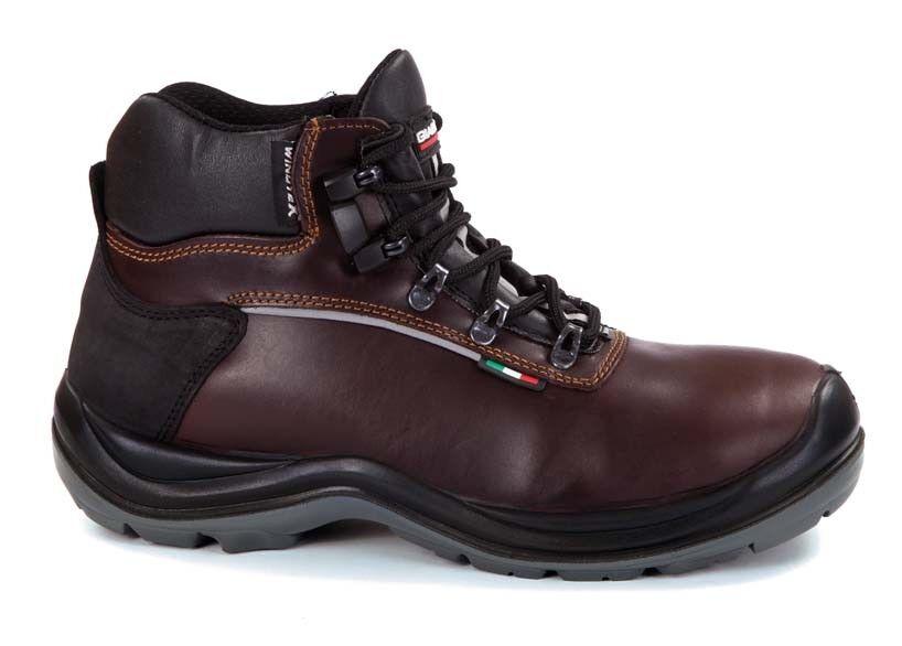 Alpi S3 CI HI WR HRO botas de invierno Seguridad Trabajo Leder wru