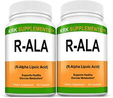 2 R-ALA R-Alpha Lipoic Acid 200mg RALA Antioxidant