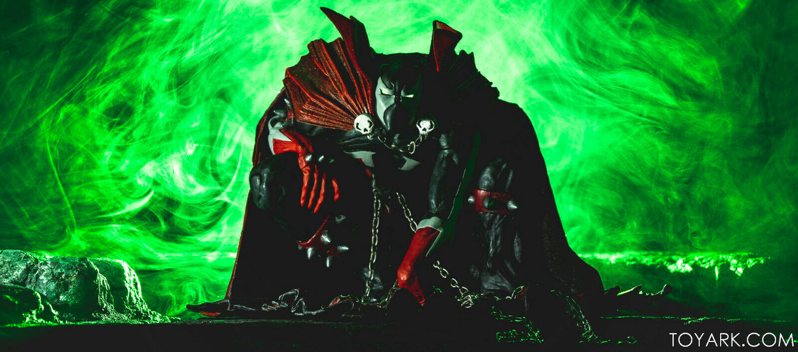 MOC SPAWN SERIES 26 ART OF SPAWN SPAWN ACTION FIGURE MCFARLANE ISSUE 8 COVER ART