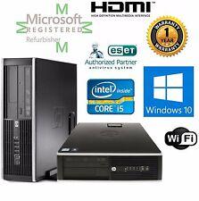 HP ELITE 8200  i7 3.40GHZ WINDOWS 10 Pro 64 16GB 500GB SSD DESKTOP COMPUTER HDMI