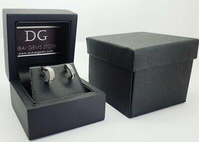 White gold finish marquise cut created diamond bracelet Bracelet box gift idea