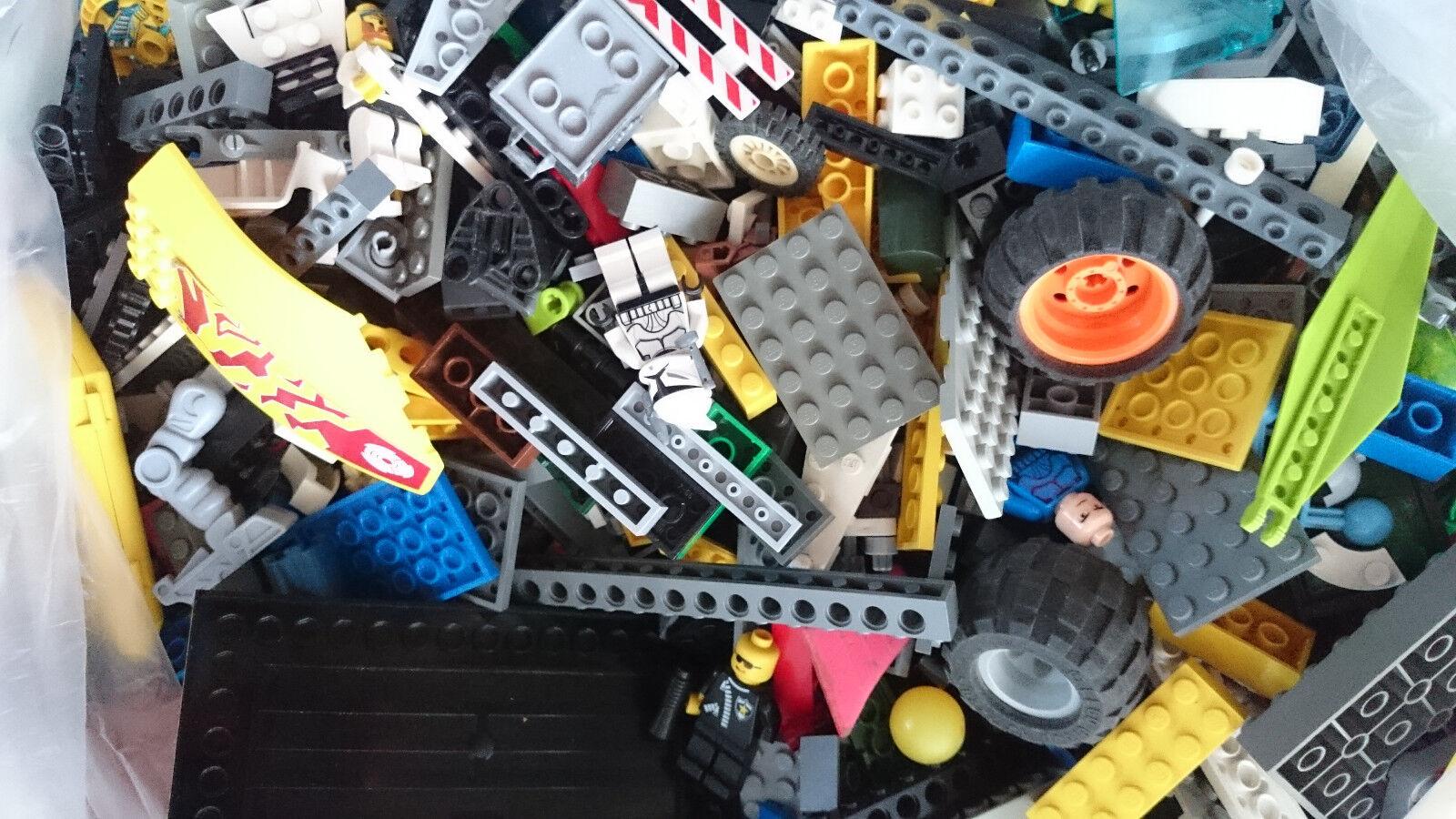 2kg LEGO Konvolut ca.1450 Teile LEGO Kiloware,Stein, Platten, Räder, Sonderteile