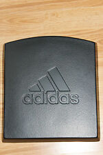 VINTAGE ADIDAS PADDED SPORTS STORE WALL TILE DISPLAY LOGO DECORATION black