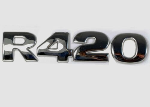 4 piece set Stainless Steel 3D Letter Numbers for Scania R420 Covers Decoration