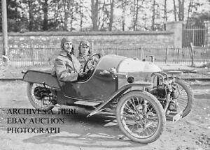 Morgan Motor Company Cycle Car Factory Racer Barthelemy 1921 Photo Photograph Ebay