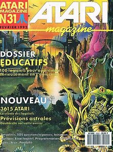 Impartial Atari Magazine N°31 Fev 1992 : Educatifs