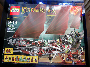 NEU LEGO Baukästen & Sets LEGO 79008 The Lord of the Rings Hinterhalt auf dem Piratenschiff