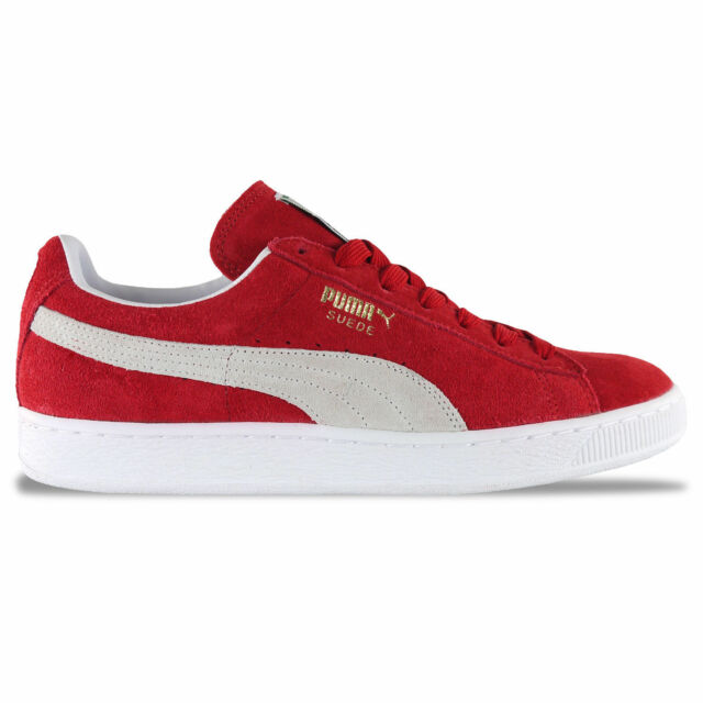 13360bf1bd4 PUMA Suede Classic Unisex Trainers Red White Shoes 6 UK for sale ...