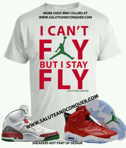 JORDAN 6 HISTORY AND SPIZIKES Matching t shirt size 2xl by SALUTE AND CONQUER
