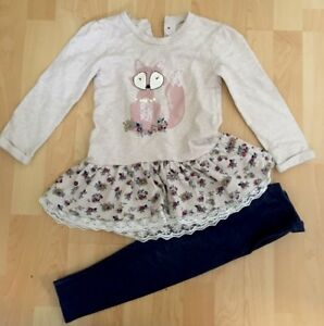 Beautiful-Little-Girls-Leggings-amp-Top-Set-Age-3-4-Years-Next-Day-Post