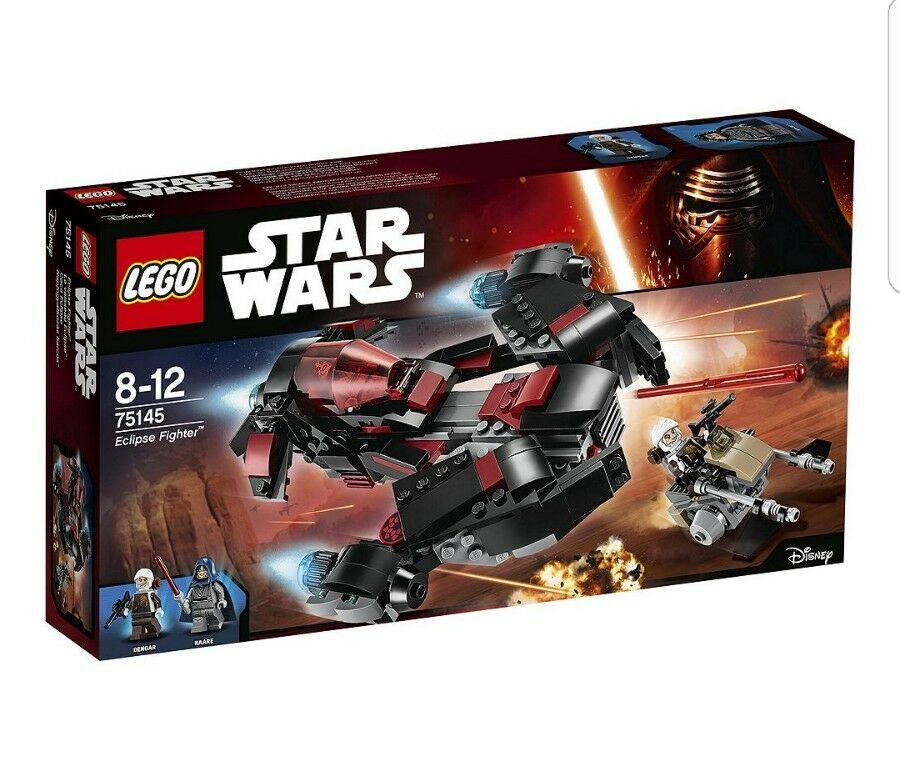 LEGO Star Wars/75145 Eclipse FIGHTER/Nuovo Con Scatola Nuovo Sigillato/Natale/veloce P & P ✔