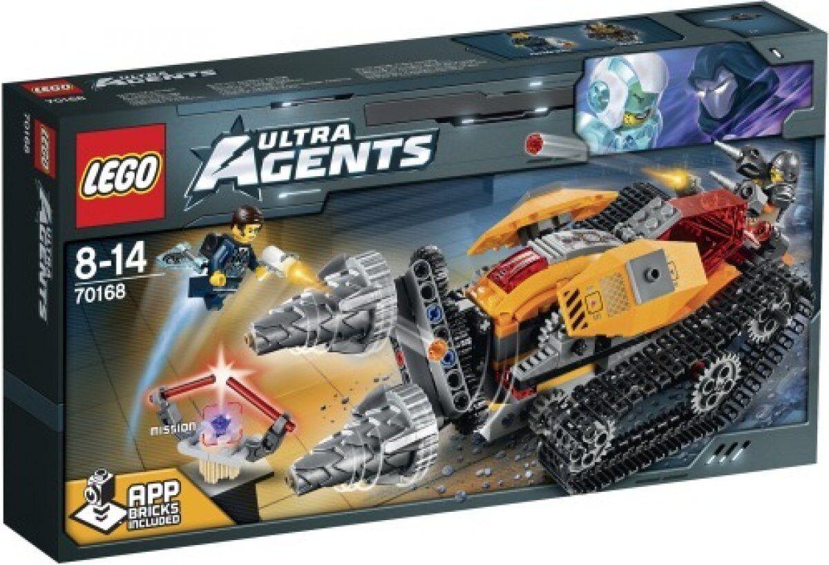 LEGO 70168 Ultra Agents Drillex Diamanten Diebstahl NEU OVP