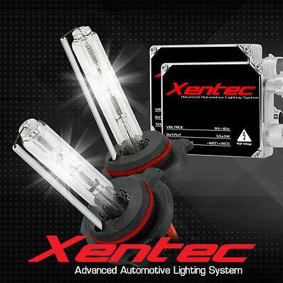 XENTEC AC 55w HID Kit H4 H7 H11 H13 9003 9005 9006 9007 6000K Hi-Lo Bi-Xenon