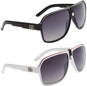 Designer Big Pilot Sports Sunglasses Black Retro Vintage UV400 Ladies Mens