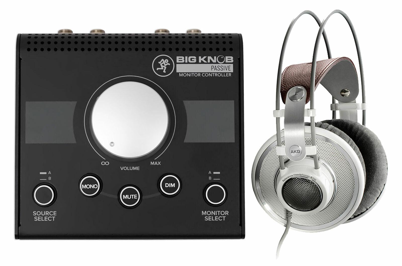 AKG K701 Premium Open-Back Studio Reference Monitor Kopfhörer Mackie Big Knob