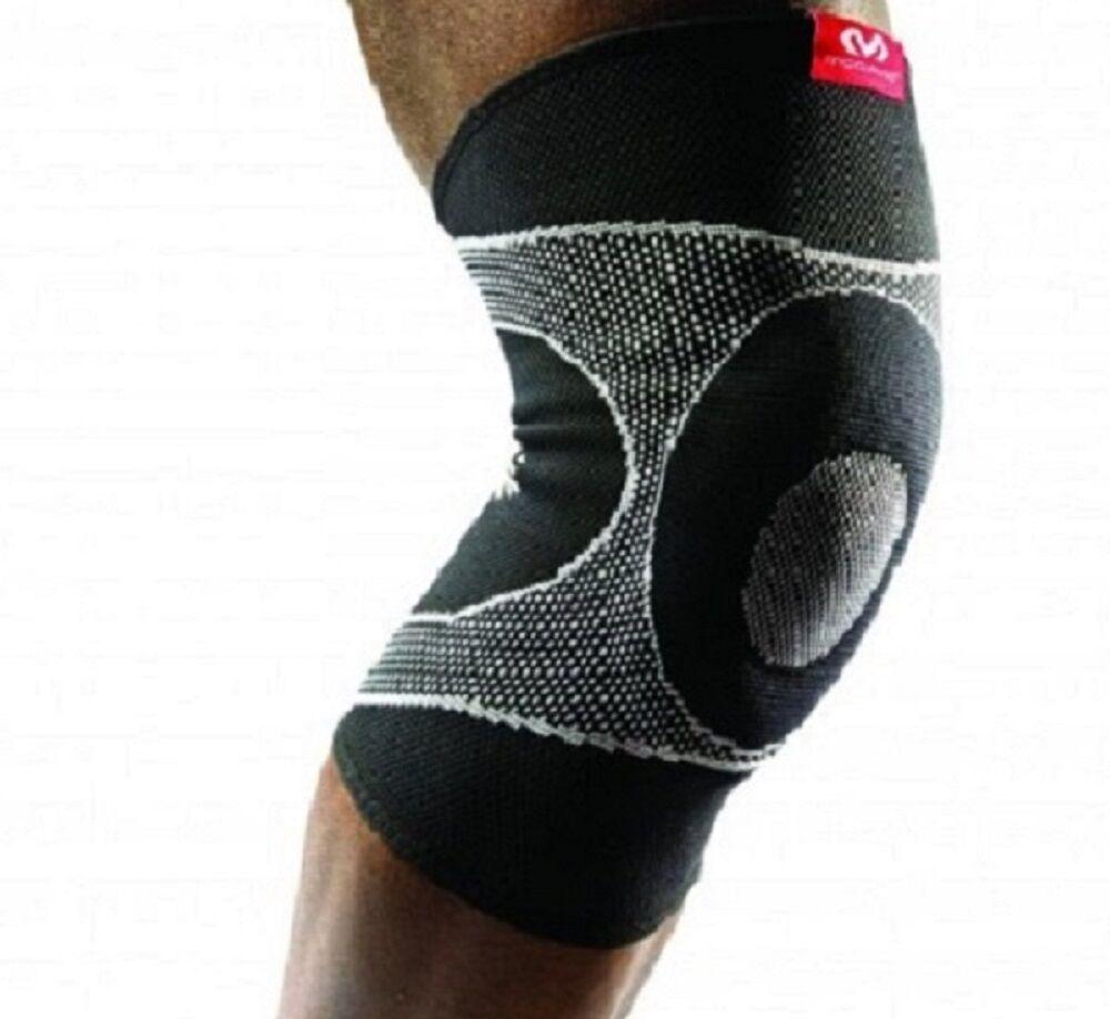 McDavid Ginocchiera Compressione McDavid 5125 Knee Sleeve/4-Way Sleeve/4-Way Sleeve/4-Way Elastic w/Gel 9bf2f1