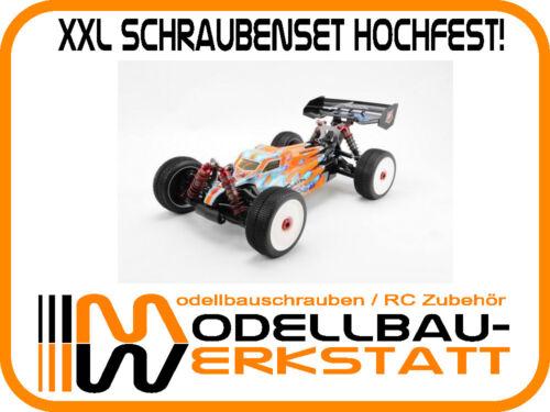 XXL Schrauben Set Stahl hochfest S-WORKz S350 BE1 sworkz screw kit high tensile