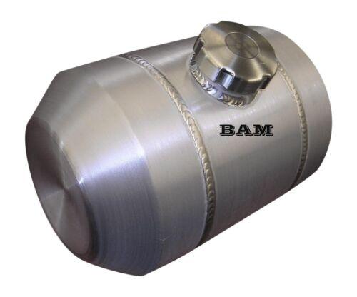 Ratrod 1//4 NPT 8X14 Center Fill Spun Aluminum Gas Tank 2.9 Gal Tractorpull