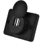 miniatura 3 - Toma-USB-Superficie-12v-24v-2-1A-Encastrable-Redondo-Combinable-Camper