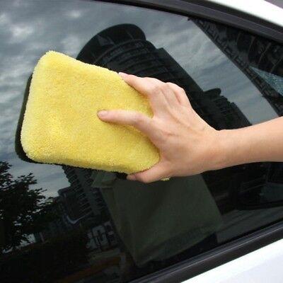 Soft Microfiber Sponge Car Wash Cleaning Window Wash Brush Cleaner Polish