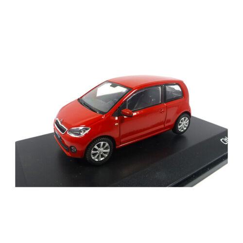 ° Abrex 143ab-021bs skoda citigo 3-puertas rojo escala 1:43 maqueta de coche nuevo