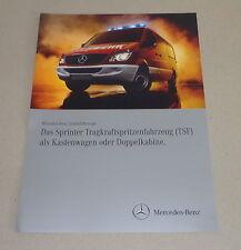 Prospekt / Werbung Mercedes - Benz Sprinter TSF Kastenwagen / Doppelkabine