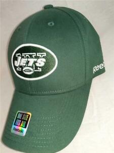 8f9ba97750d New York Jets Adult Mens Size OSFA Reebok Green Flexfit Cap Hat  20 ...