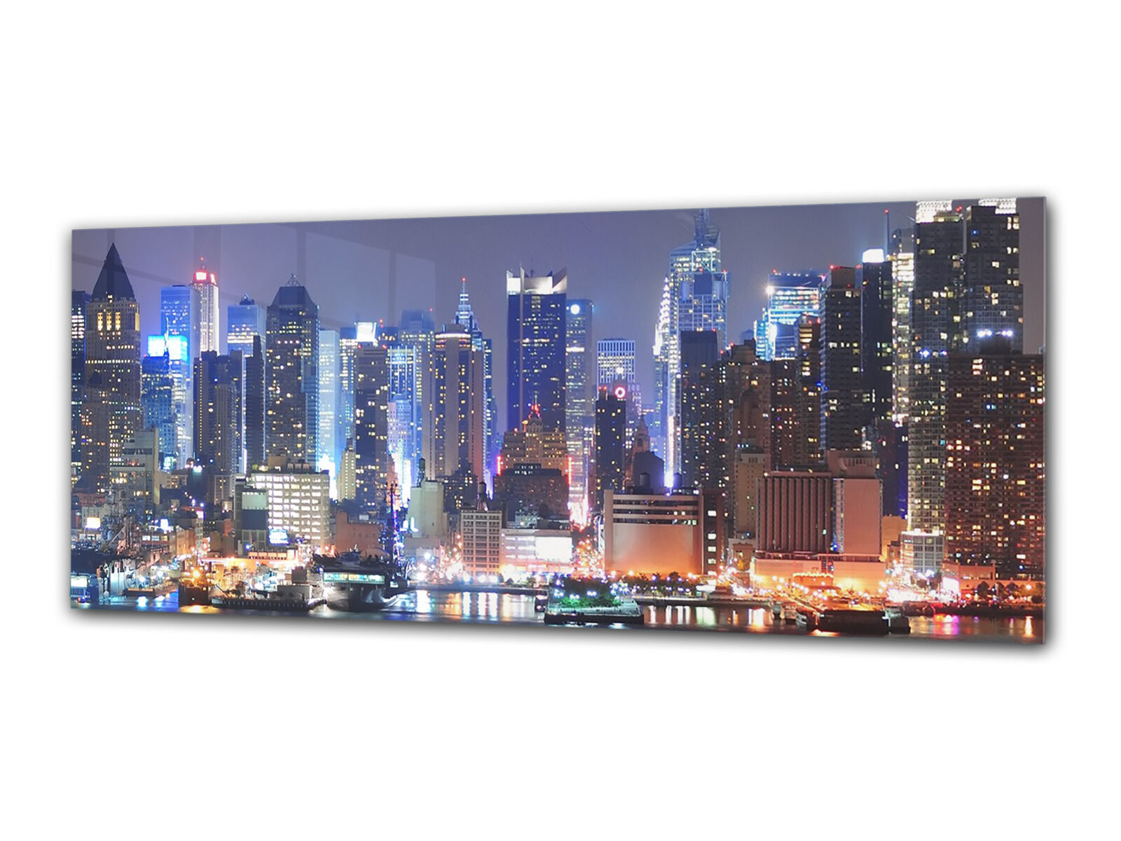 Glass Print Wall Art 112x45 cm Image on Glass Decorative Wall Picture 43252911