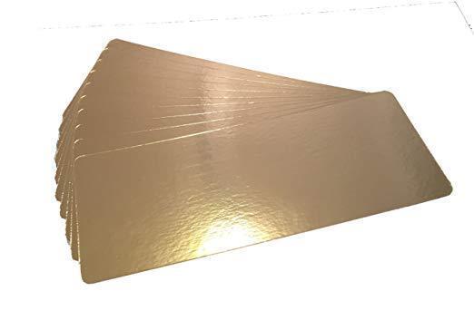 7  X 19  pescado salmón ahumado oro plata placas de vacío de Alimentos 50 Pack