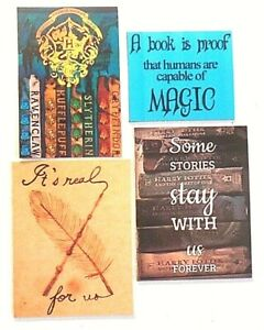 Details about Harry Potter stories forever wand real magic Hogwarts book  wizard feather magnet