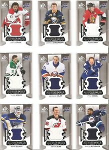 2015-16-Upper-Deck-SP-Game-Used-All-Star-Skills-Fabrics-Jersey-Pick-From-Menu