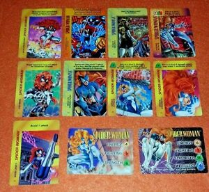 Image Is Loading OVERPOWER Spider Woman SET 2 Hero IQ 8