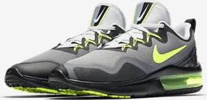 41c537ab9be7 NIKE AIR MAX FURY MEN S RUNNING SHOES SIZE  9 COOL GREY VOLT AA5739 ...